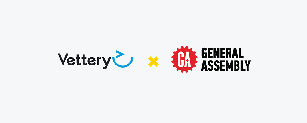 Vettery and General Assembly Logos